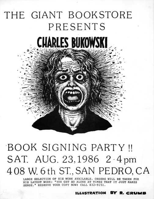 Giant Bookstore Signing Flyer