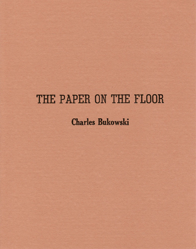 The Paper on the Floor